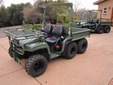 NEW BUILD John Deere Military Gator Diesel 6x4 4x4 ATV (29 Hours)