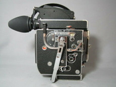 Super-16 Bolex Rex-5 Movie Camera with BRIGHT Viewer