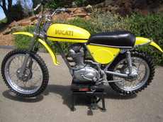 Ducati 1971 450 RT Desmo Vintage Motocross Dirt Bike