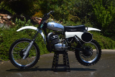 1975 CZ Works 400 (1987 Engine with a Modified Frame) Vintage Motocross Dirt Bike