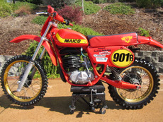 1979 Maico 250 Magnum Vintage Motocross Dirt Bike