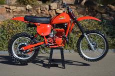 1979 Honda Elsinore CR 250 Vintage Motocross Dirt Bike