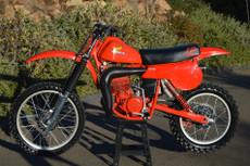 1980 Honda Elsinore CR 250 Vintage Motocross Dirt Bike