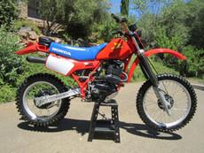 1981 Honda Works XR 500R Vintage Motocross Dirt Bike