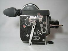 Super-16 Bolex 16mm Movie Camera + Zeiss C-Mount Lens