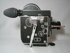 Super-16 Bolex 16mm Movie Camera + Zeiss C-Mount Lens