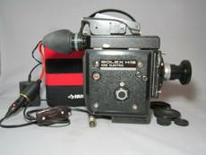 Super-16! Bolex EBM 16mm Movie Camera + Zeiss C-Mount Lens and Motor