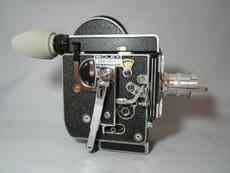 Bolex Rex-4 16mm Movie Camera + Rex O Fader + 10x Viewer