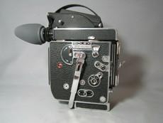 Super-16 Bolex Rex-5 16mm Movie Camera