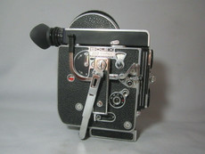 Bolex Rex-4 16mm Movie Camera (Rex-o-Fader and 10x Viewer)