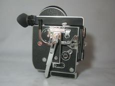 Bolex Rex-4 16mm Movie Camera (Rex-o-Fader and 10x Viewer)