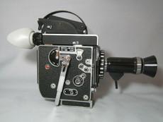 Ultra-16 Bolex SBM Rex-5 Movie Camera + Kern Switar  17-85mm Lens