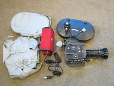 13x VIEWER Bolex EL 16mm Movie Camera + Kern Switar  12.5-100mm Lens