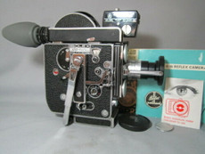 Super-16 Bolex Rex-4 Camera Package