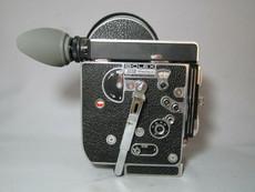 STUNNING Bolex Rex-4 16mm Movie Camera with 10x Viewer