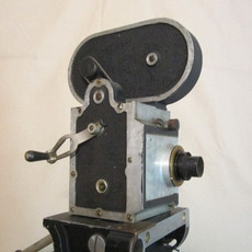 Prototype Hand Crank 16mm Movie Camera + Brass Lens