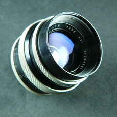 Angenieux 1.5/50mm Type S2 Exacta Mount 35mm Lens