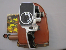 Bolex B8 SL 8mm Movie Camera + D-Mount Lenses Package