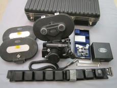 SOLD - Arriflex BL 16mm Movie Camera Package | Sound Module