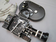 1972 Bolex H-16 Rex 5 Movie Camera (No 254864) Package | Zoom Lens | MST Motor | Vintage Movie Camera