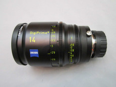Zeiss Distagon DigiPrime Cine T1.5/14mm Cine Lens | 2K | B4 Mount | HD Lens | Zeiss Distagon | Zeiss Lenses