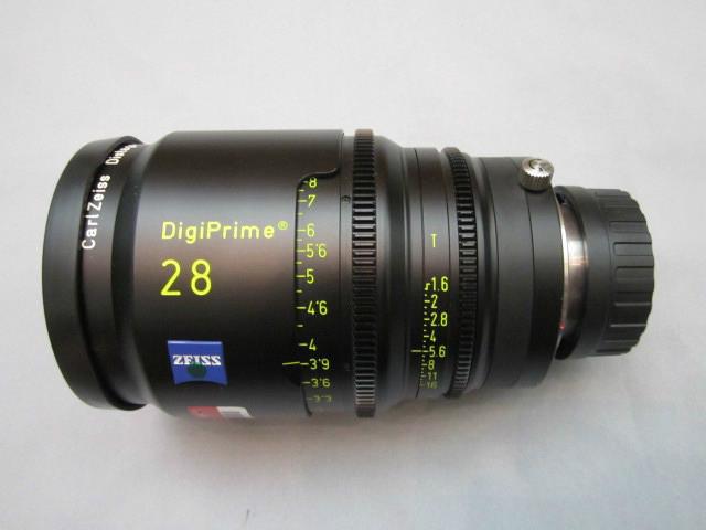 Zeiss Distagon DigiPrime Cine T1 5/28mm Cine Lens | 2K | B4 Mount | HD