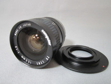 Super 16 | MODIFIED Computar 1.3/12.5mm C-Mount Lens + Adapter | BMPCC Lens | Movie Camera Lens
