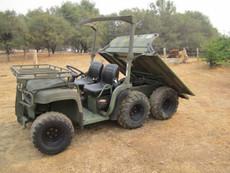2009 John Deere A1 6x4 Military Gator (46 Hours)