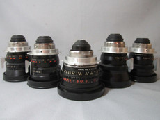 SOLD - Zeiss Distagon Super Speed 5 Lens Set | PL Mount | Zeiss Lenses