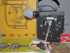 RARE - Newest Model Bolex Rex 5 Black Body with 13x Viewer (No 352821) 16mm Movie Camera | Vintage Movie Camera