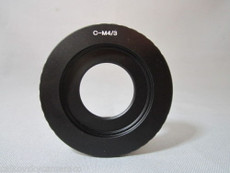 Black Magic BMPCC 4/3 to C-Mount Adapter | Digital 4/3 Adapter