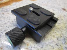 Metal Tripod Quick Release slide Plate with Level For Camera Ball Head Universal | Digital Camera Tripod