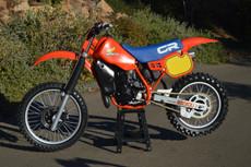 1984 Honda CR 500 Vintage Motocross Dirt Bike