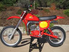 1979 Honda Elsinore  Concourse CR 250 Vintage Motocross Dirt Bike