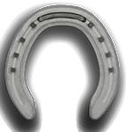Kerckheart Kings aluminium pony shoe hind