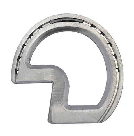 Aluminium wide Z-bar horse shoes