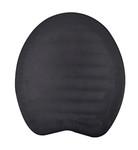 Black soft plastic hoof pad