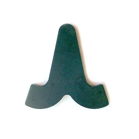 Horse shoe heart bar inserts steel
