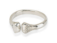 Ladies horseshoe nail sterling silver jewellery