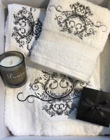 Towel and Bath Set Gift Box