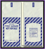 PORK SAUSAGE MEAT BAGS -1 # SIZE  (100 QTY)