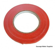 """MEAT BAG TAPE 3/8"""" RED"""