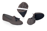 Tassel Slipper Grey ( Sold out XS, L Size )