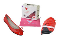 Lily Flats Red from $20.95 XS Size, $27.95 S Size