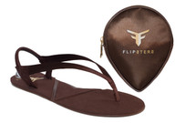 Flipsters Copper L Size With free Happy Heels