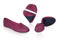 Italian Loafer Burgundy ( Sold out XS, L Size )