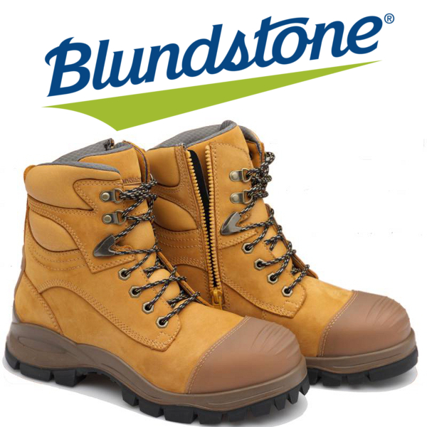 Work Boots Blundstone Steel Blue Rossi Boots Cat Boots
