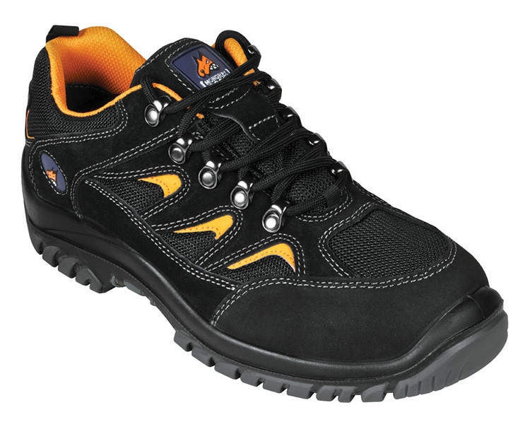 Mongrel Boots 350080 Black Lightweight Sports Safety Shoes