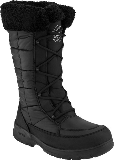 Kamik New York Snow Boots Womens Black - Koolstuff Australia
