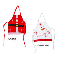 Christmas Holiday Wine Bottle Aprons